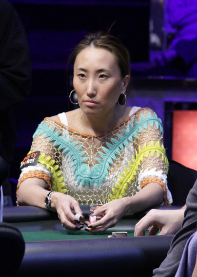 Melissa Burr At ,000 Poker Players Championship Final Table